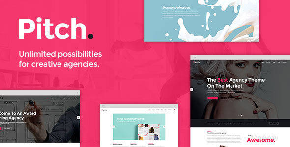 Pitch - A Theme For Freelancers And Agencies - Corporate