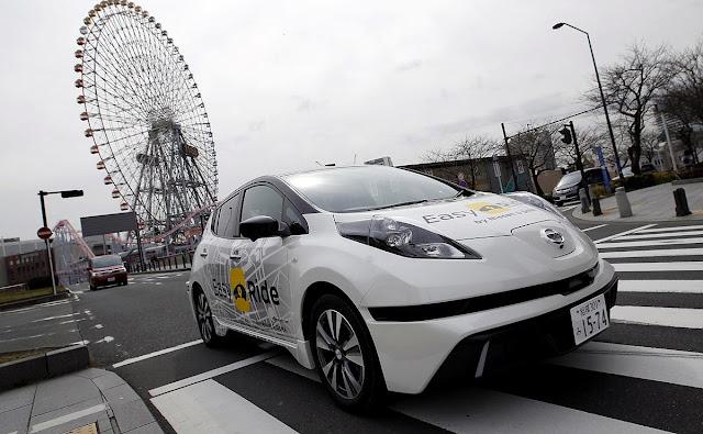 Nissan inicia testes de mobilidade autônoma em 5 de março