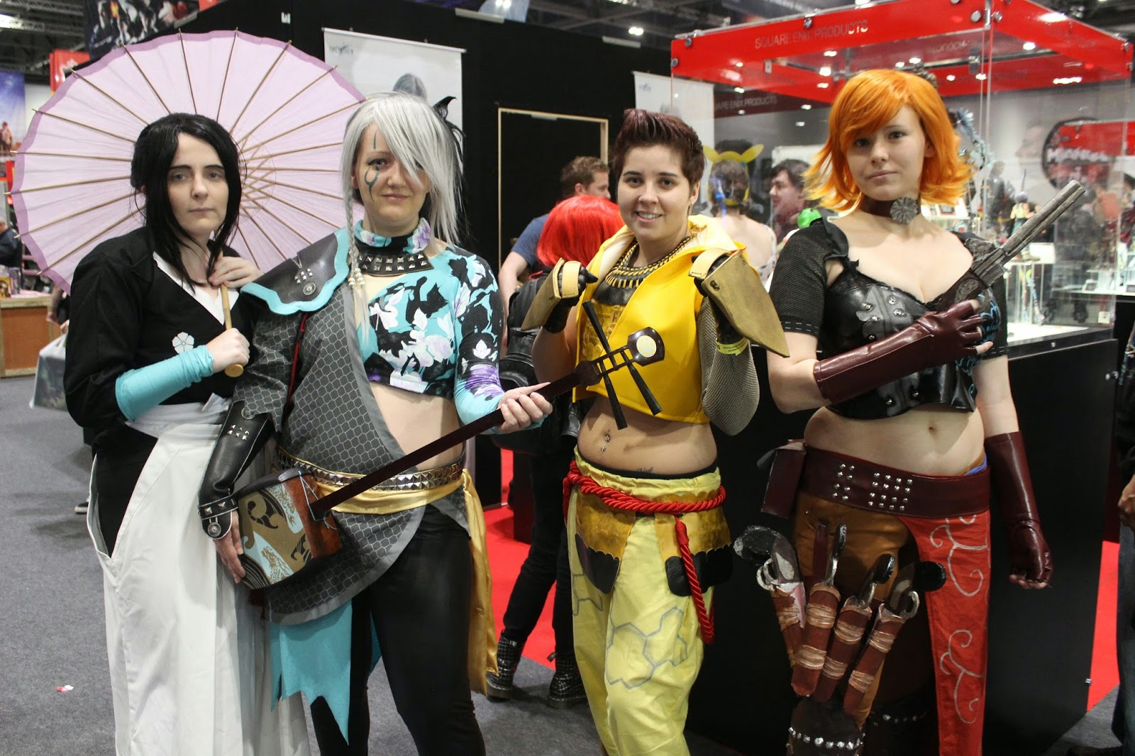 London ComicCon Basara Cosplay