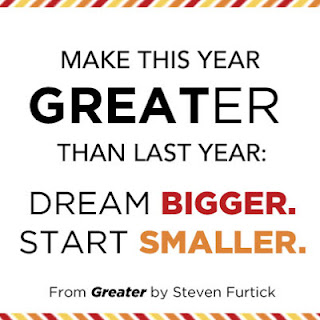 This Year: Dream Bigger, Start Smaller  By Steven Furtick