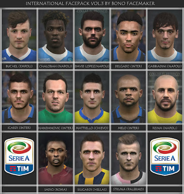PES 2016 SERIE A FACEPACK N°7 BY BONO10