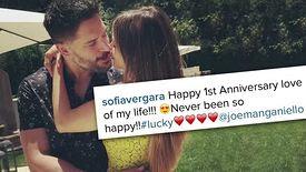 Sofia Vergara et Joe Manganiello célèbrent leur première année ensemble