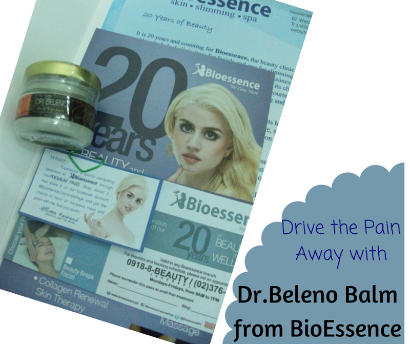 Dr. Beleno Balm from @Bioessence #review