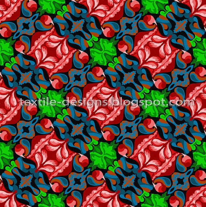indian textile pattern and design 2