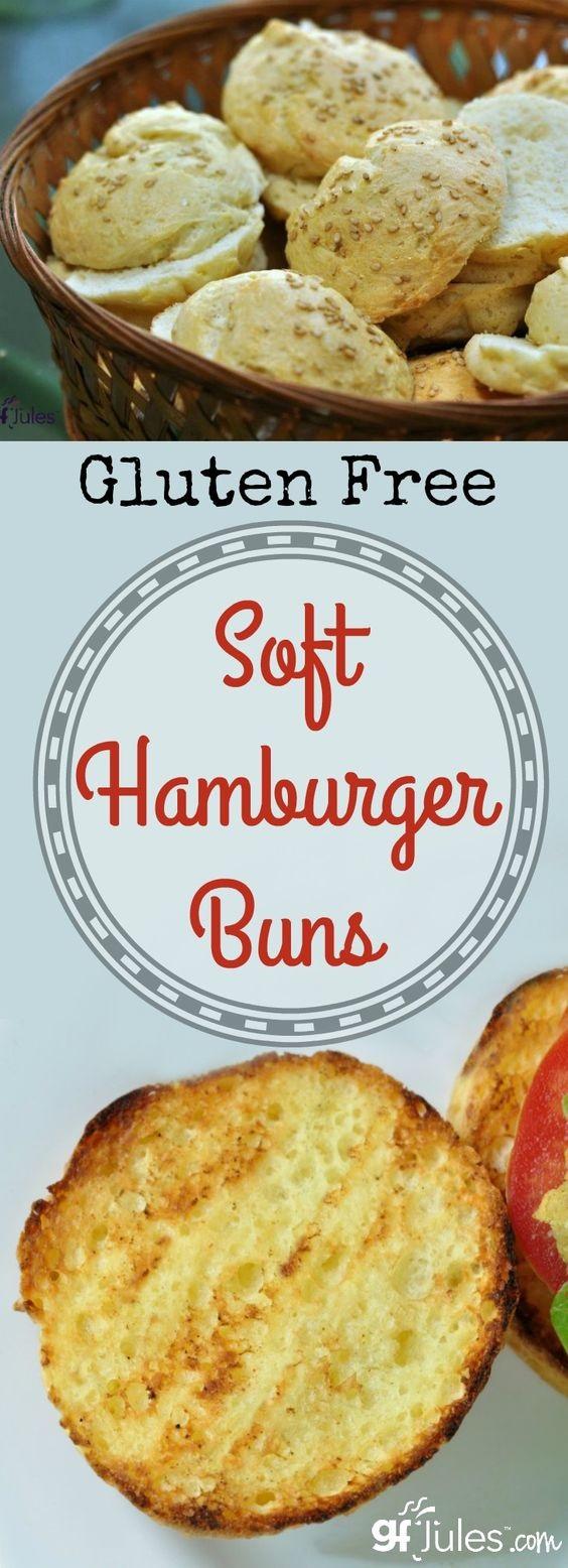 Gluten Free Hamburger Buns or Hot Dog Buns Recipe