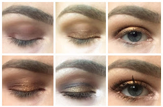 The ABH's Prism palette day to night look