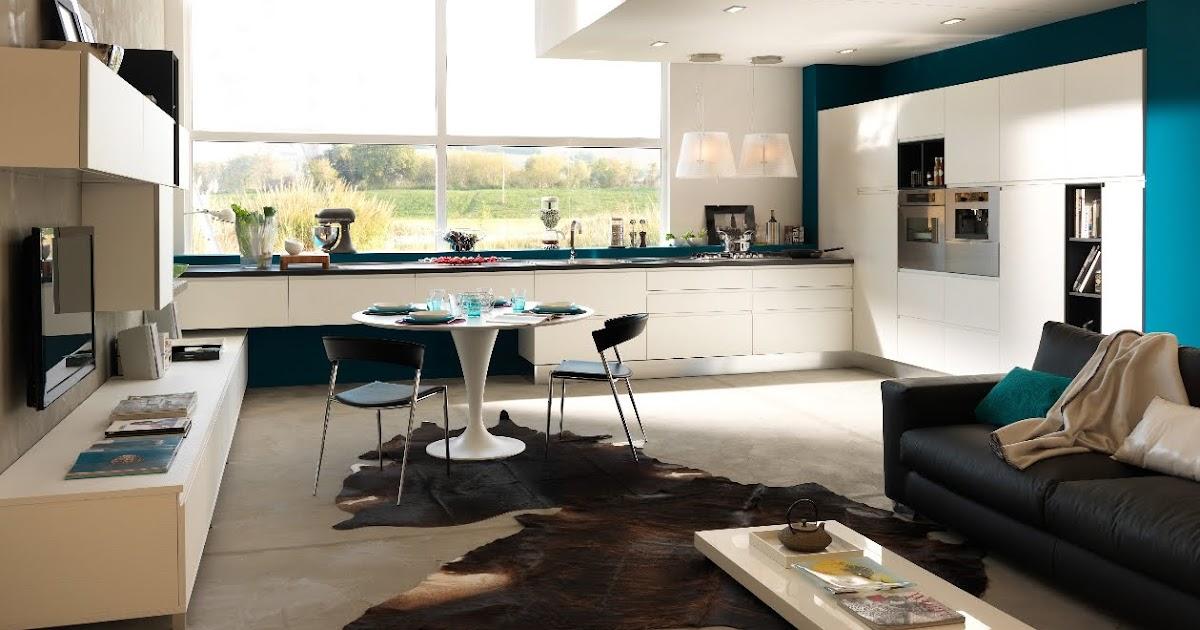 Soggiorno cucina open space   living con angolo cottura ...
