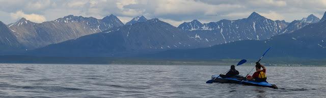 Путешествие на байдарке Neris 3 по фиордам Норвегии