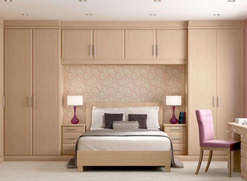 Desain lemari minimalis modern built in sangat cocok untuk kamar yang memiliki ukuran kecil
