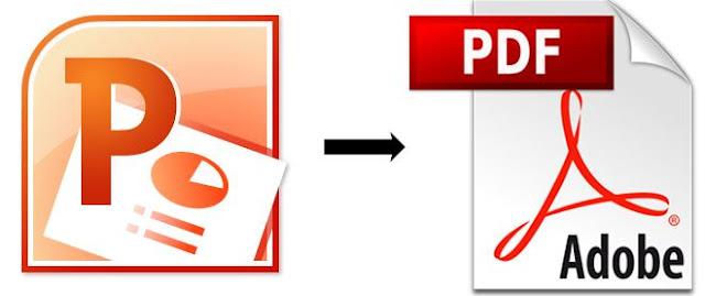 Cara Merubah File Powerpoint Ke File PDF Dengan Cepat Dan Mudah
