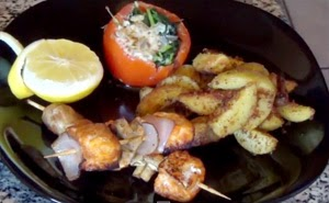 How to Make Salmon Kebabs! – The Tamil-Italian Chef
