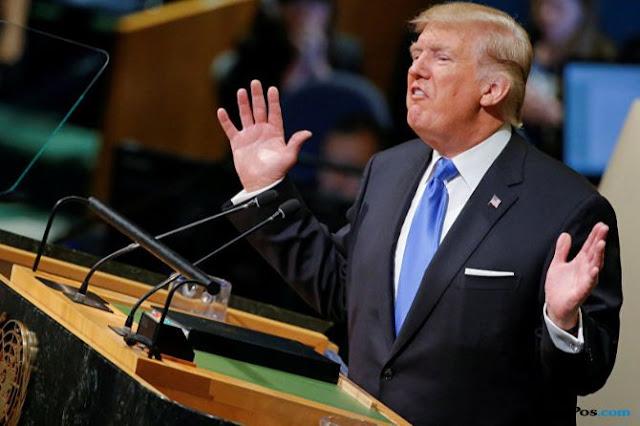 Sombongkan Diri, Trump Ditertawakan Saat Pidato di Sidang Majelis Umum