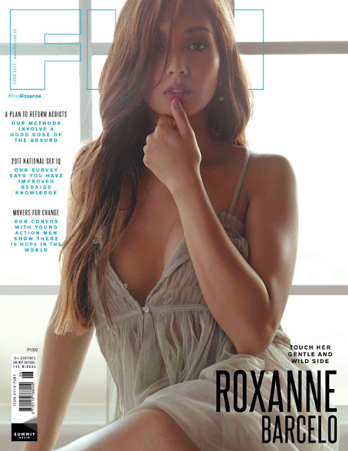 Roxanne Barcelo FHM's June 2017 Free Download