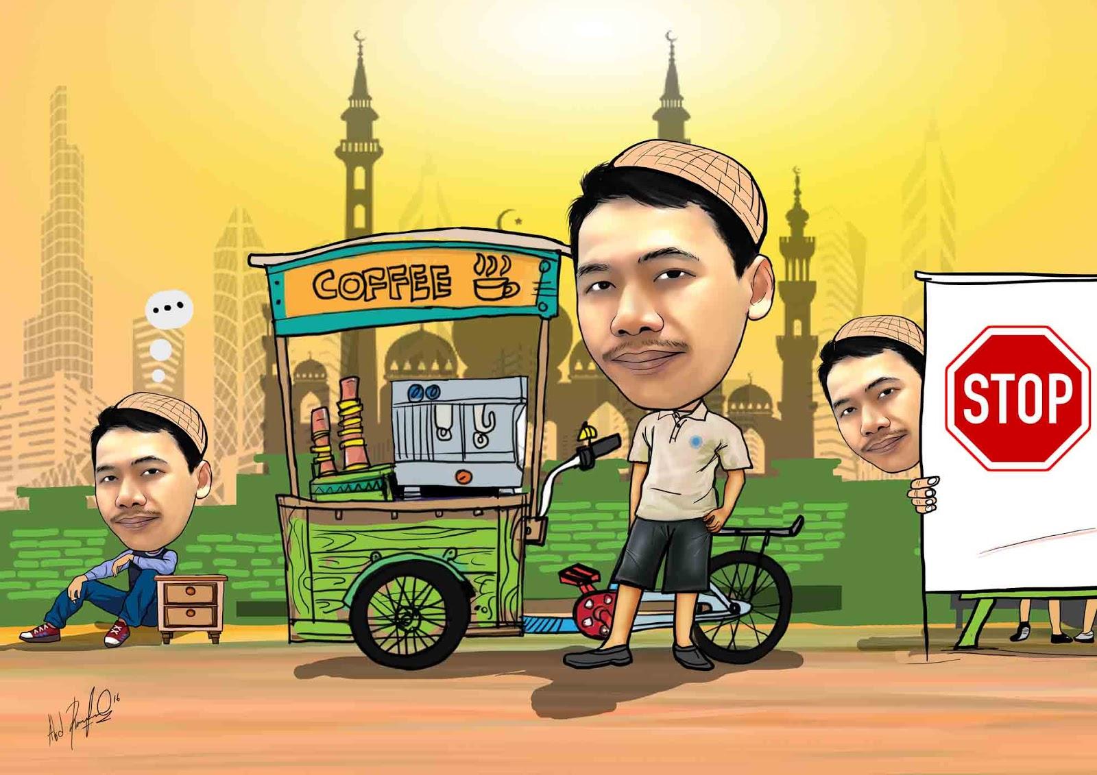 Jasa Karikatur Wajah Karikatur Digital Dan Manual June 2016