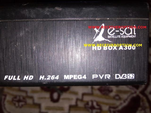 E-SAT HD BOX A300 RECEIVER SOFTWARE