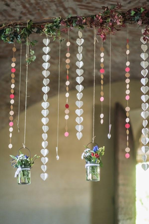 Una sencilla boda de estilo rústico cargada de encanto