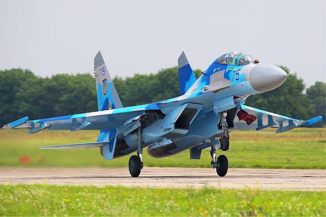 Su-27 Radom air show 2017
