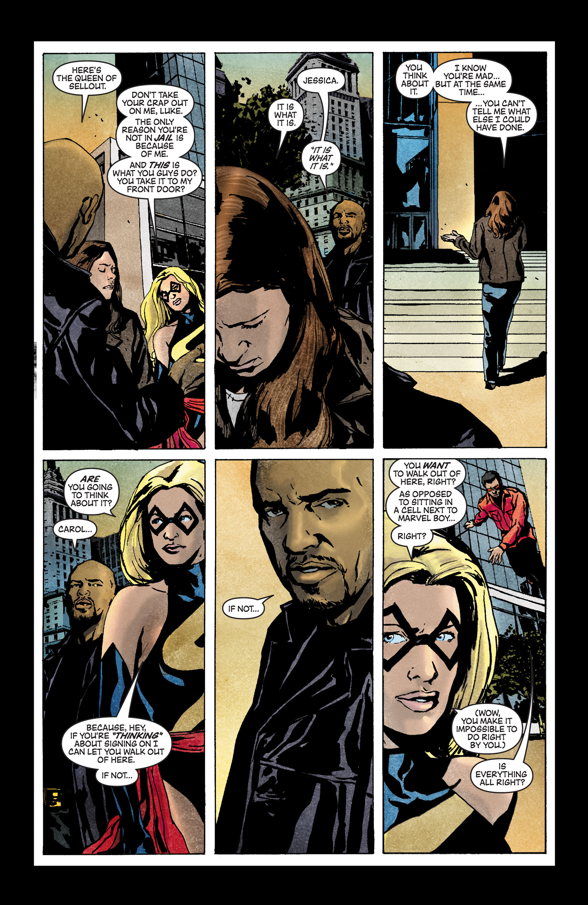 Read online Secret Invasion: The Infiltration comic -  Issue #3 - 15