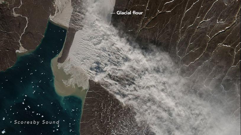 Matt's Weather Rapport: Believe It Or Not, A Dust Storm In Greenland