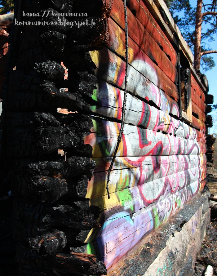 kruunuvuori valokuvauskurssi autiotalo poltettu 2017