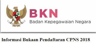 info sscn bkn 2018