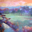 Colorful Terrain, New Contemporary Landscape Painting by Sheri Jones