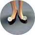 PomPom Basic Flat Shoes(without strap version)_끈 없는 폼폼 플랫슈즈_여자 신발