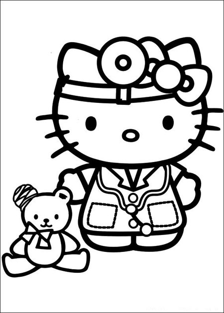 33 Hello Kitty Picture Pages to Print and Color >> Disney ...