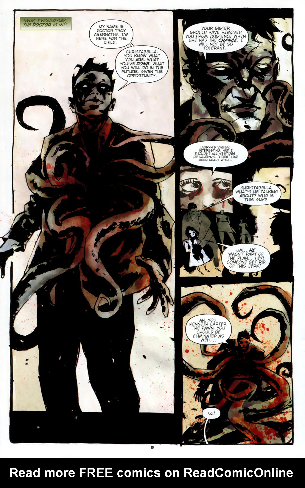 Read online Silent Hill: Dead/Alive comic -  Issue #2 - 20