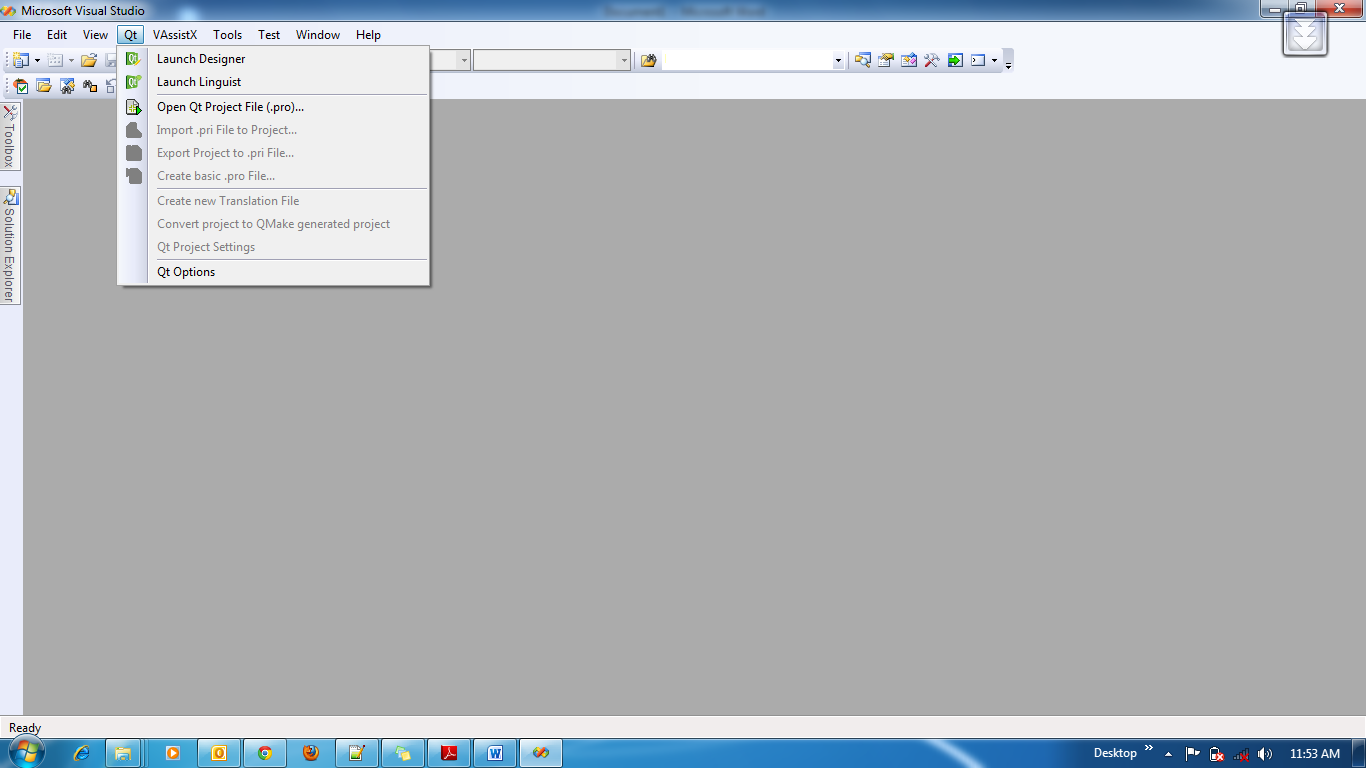 ishara Jayathilaka: Installing QT to use with Visual Studio 2008