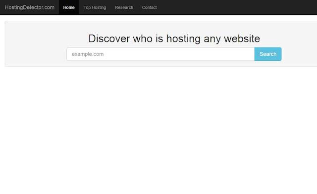 hosting detector