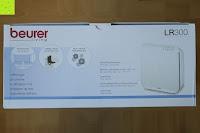 Verpackung oben: Beurer LR 300 Luftreiniger mit HEPA Filter für 99,5% Filterleistung, ideal bei Heuschnupfen und zur Allergievorbeugung