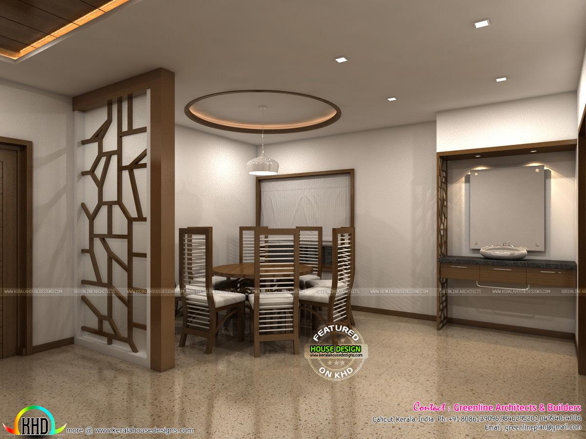 Grand and stylish interior designs kerala home design for Grand designs interior designer cornwall