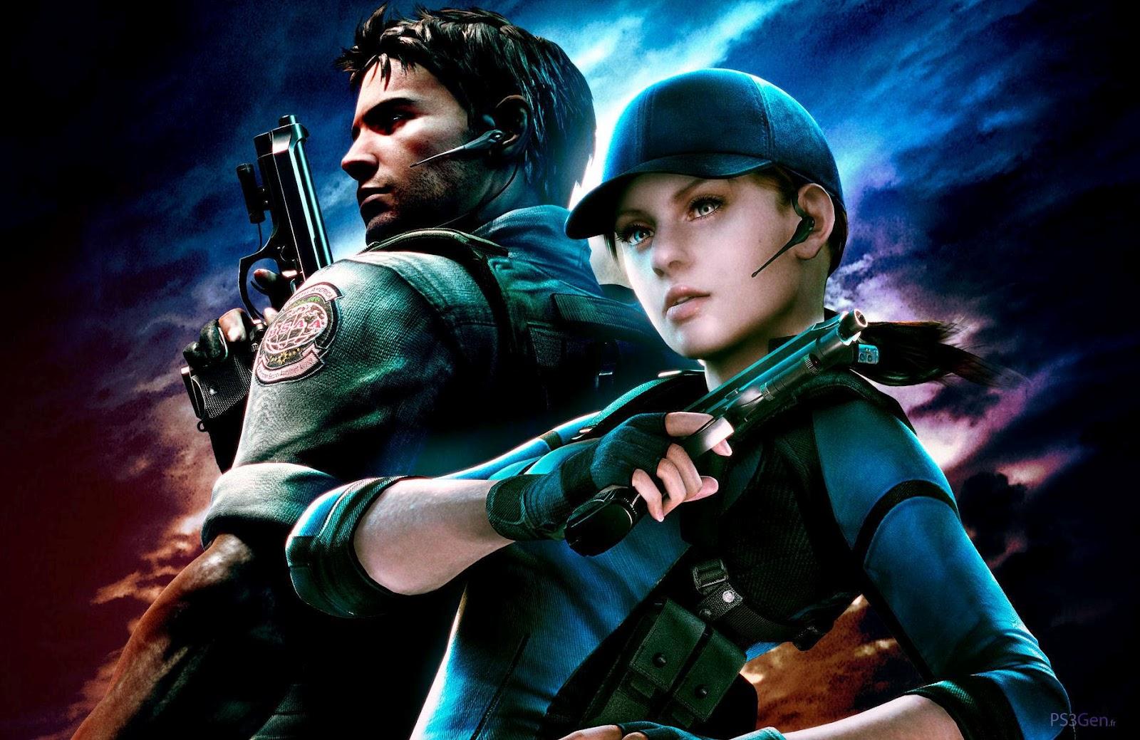 Video Game Gallery Resident Evil 4 Chris Redfield Jill Valentine