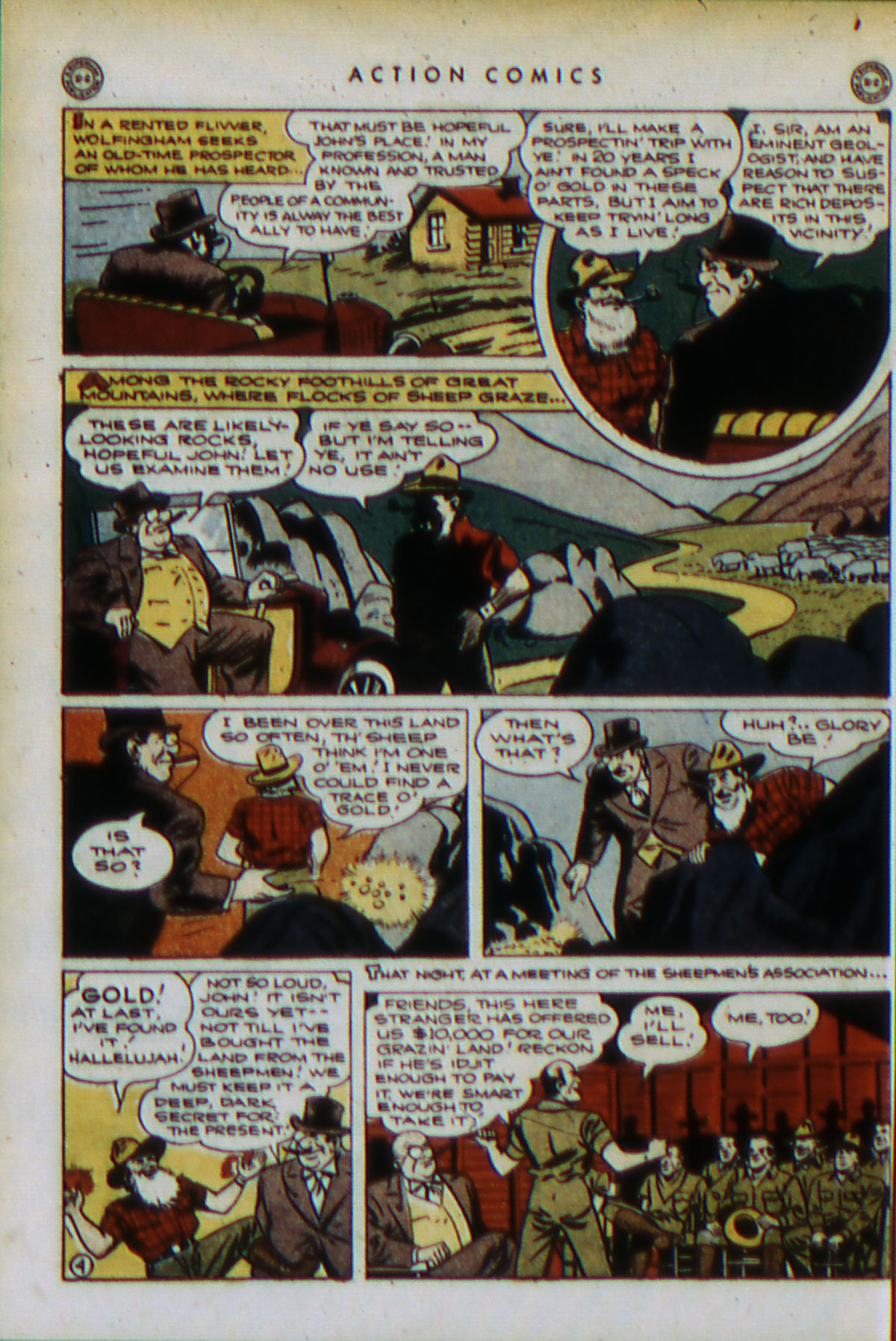Read online Action Comics (1938) comic -  Issue #79 - 7