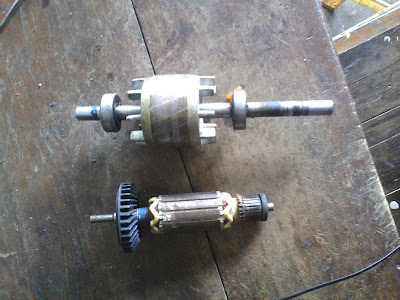 Penghasil Putaran? Stator dan Rotor pada Motor listrik