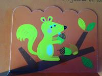 Les saisons de l'arbre - Editions TOURBILLON - l'écureuil