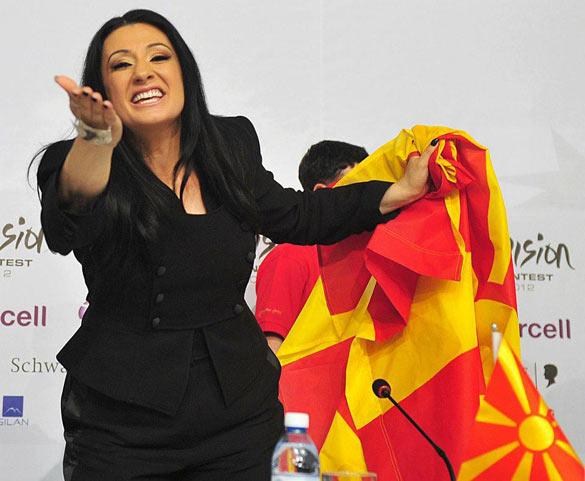 Macedonian Singer Kaliopi Promotes Eurovision 2016 Song