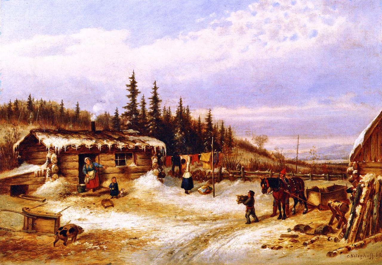 19th Century American Paintings Cornelius Krieghoff Ctd