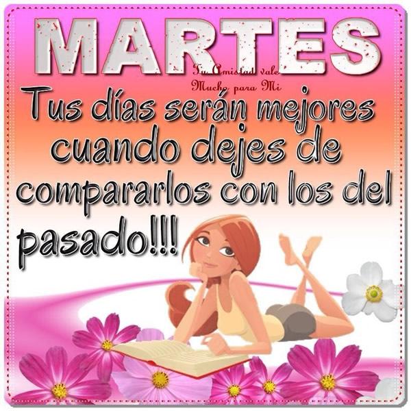 Imagenes De Buenos Días Frases De Feliz Martes Mizancudito