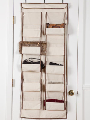 0ver-the-door purse organizer