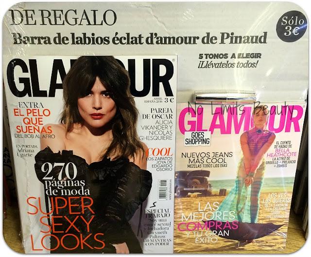 Regalos revistas Abril 2016: Glamour