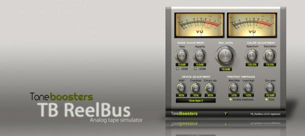 tone boosters tb reelbus tape emulator