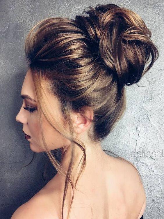 Tipos De Moos Altos Elegant Beautiful Amazing Peinados Con Moos - Peinados-de-moos-altos