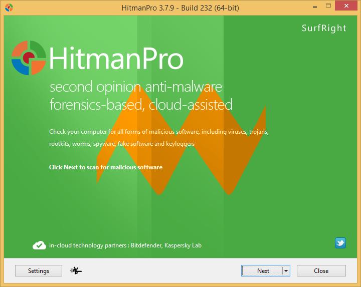 HitmanPro 3.7.9 Build 232
