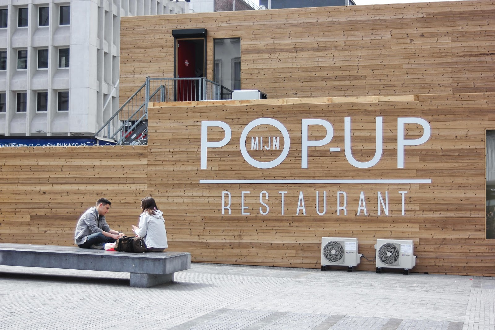 Pop-up Brussels