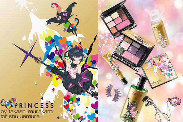 6 hearts princess by takashi murakami for shu uemura | iva