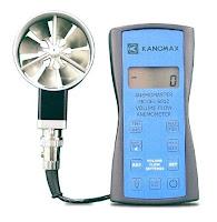 Jual  Anemometer KANOMAX 6812 Vane Rotating Call 0812-8222-998