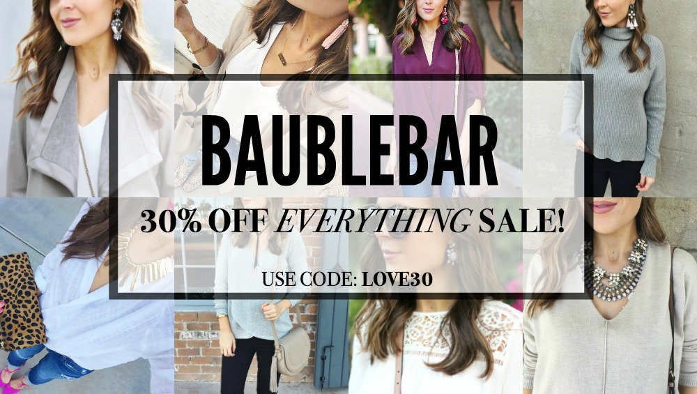 BaubleBar 30% Off Everything Sale!