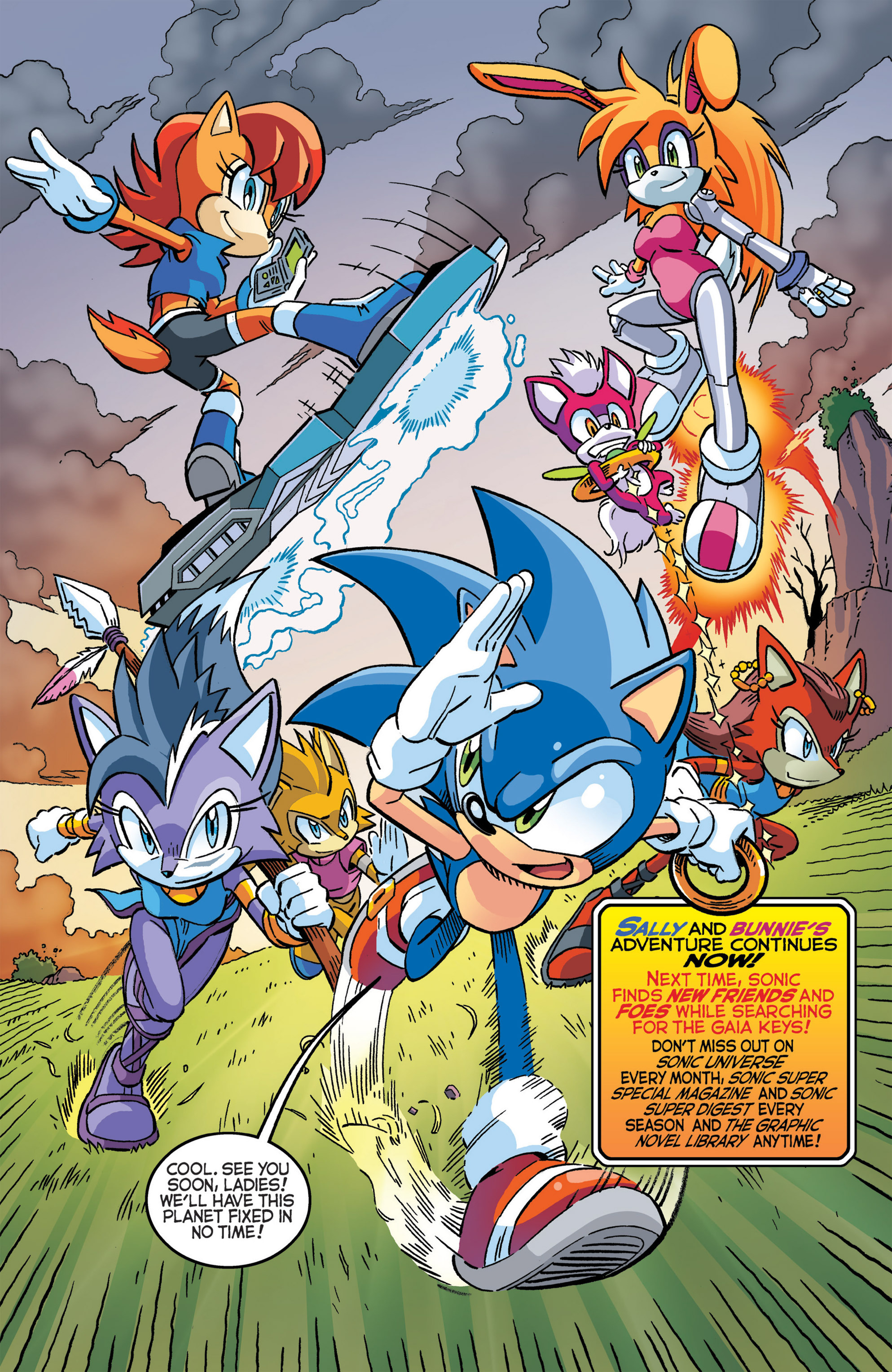 Read online Sonic The Hedgehog comic -  Issue #277 - 12